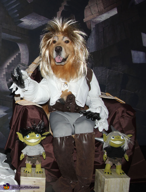 Gryphon as Jareth the Goblin King, Labyrinth: Jareth the Goblin King and Baby Toby Costume