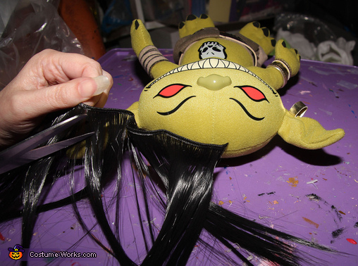 Attaching Hair to Goblins, Labyrinth: Jareth the Goblin King and Baby Toby Costume