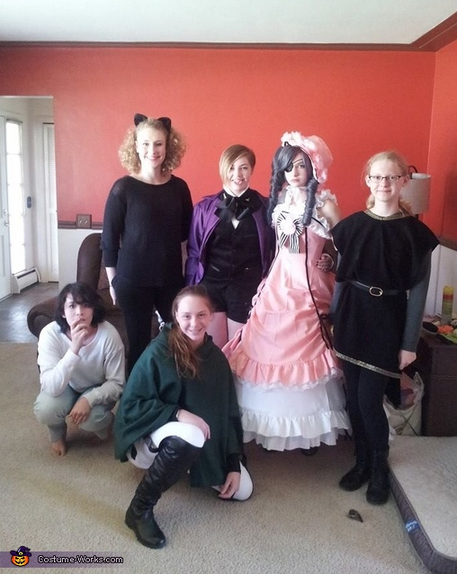 This is the costume with other light and people., Lady Ciel Phantomhive Costume