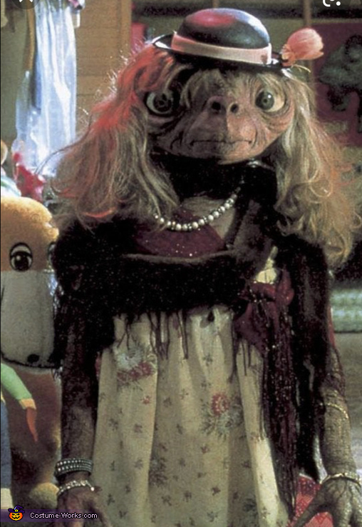 Original inspiration, Lady E.T. Costume