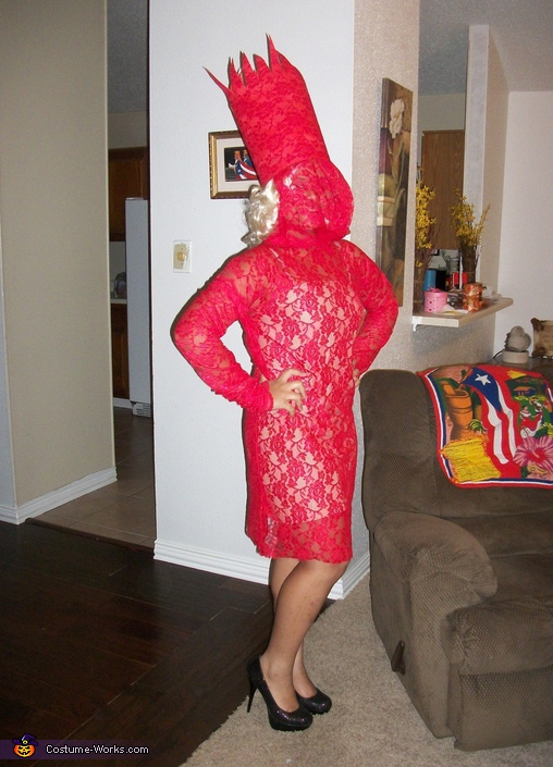 Lady Gaga in Red Costume