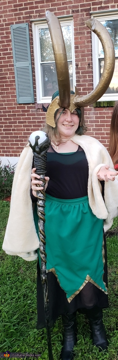 Lady Loki Costume