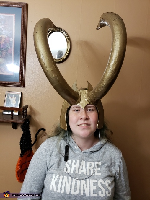 Lady loki horn crown, Lady Loki Costume