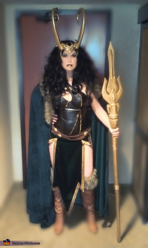 Lady Loki Homemade Costume