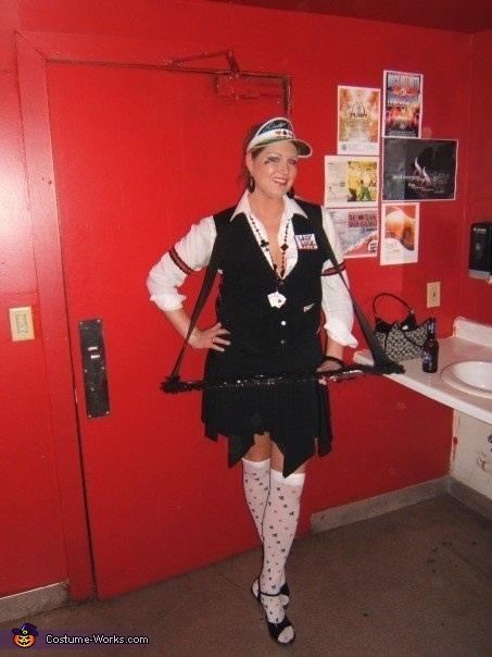 Lady Luck Poker Dealer Costume