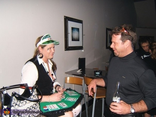Dealer always wins!, Lady Luck Poker Dealer Costume