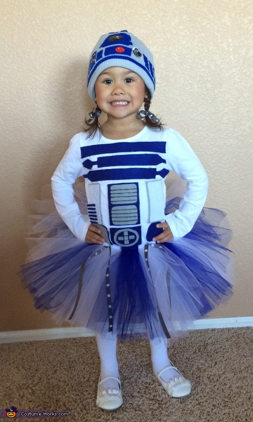 Lady R2d2 Baby Costume