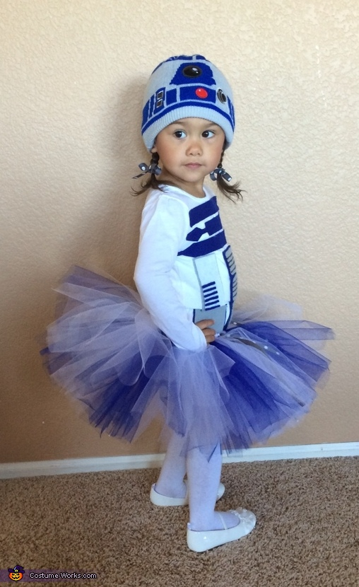Lady R2D2 Baby Homemade Costume