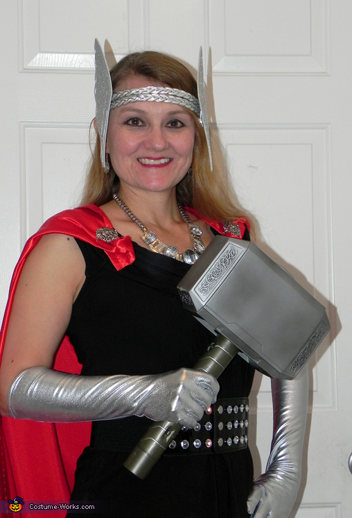 Lady Thor Homemade Costume