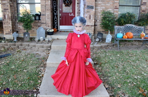 Lady Tremaine Homemade Costume