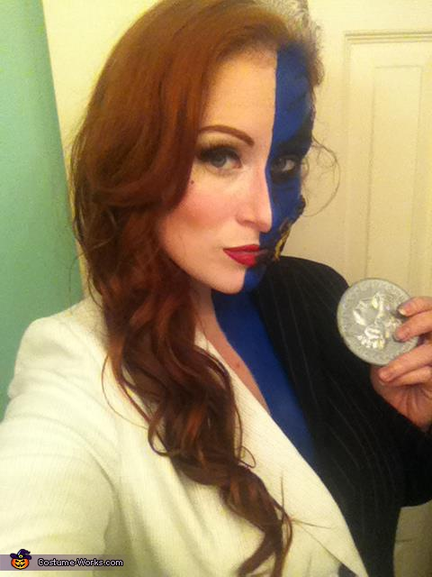 Lady Two-Face Homemade Costume