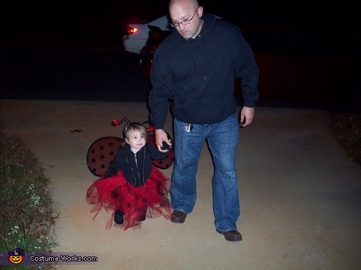 Trick or Treat in our neighborhood, Ladybug Baby Costume