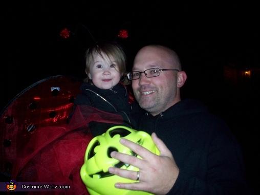 Daddy & me, Ladybug Baby Costume
