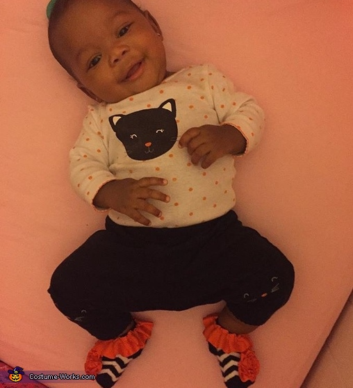 I just love my outfit!, Ladybug Baby Costume