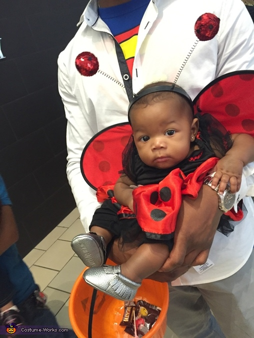 I need more candy!!, Ladybug Baby Costume