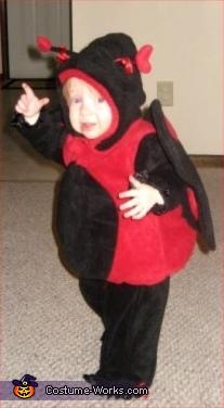 LadyBug - Homemade costumes for babies