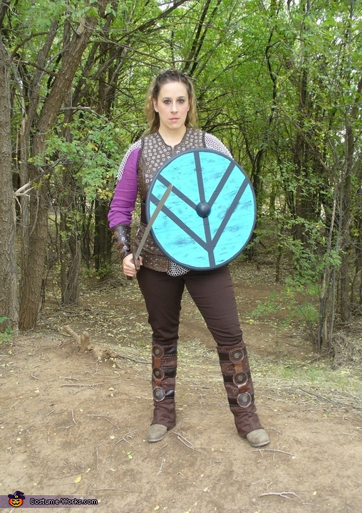my shield, Lagertha, Viking Shield Maiden Costume