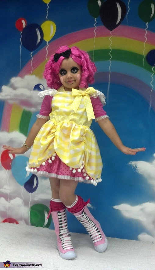 Lalaloopsy Crumbs Sugar Cookie Doll Costume