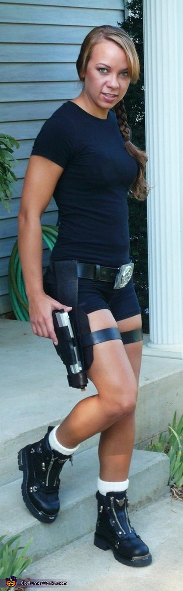 Lara Croft Homemade Costume