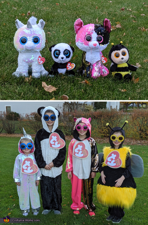 Costume Inspirations, Larger than Life Beanie Boos Costume