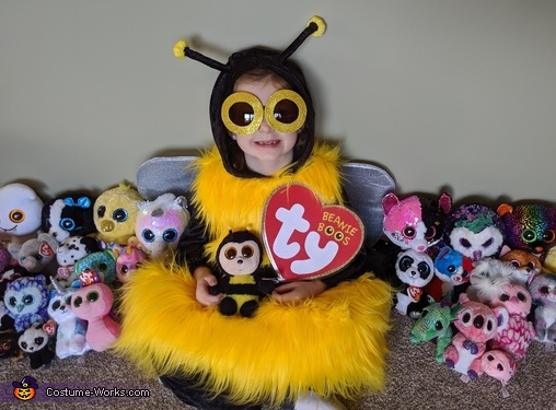 Larger than Life Beanie Boos Homemade Costume