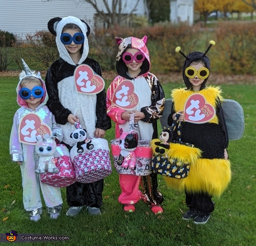 Larger than Life Beanie Boos Costume