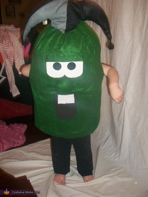 Larry the Cucumber Costume