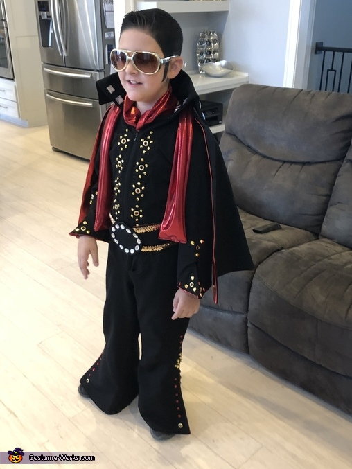 Late ELVIS Homemade Costume