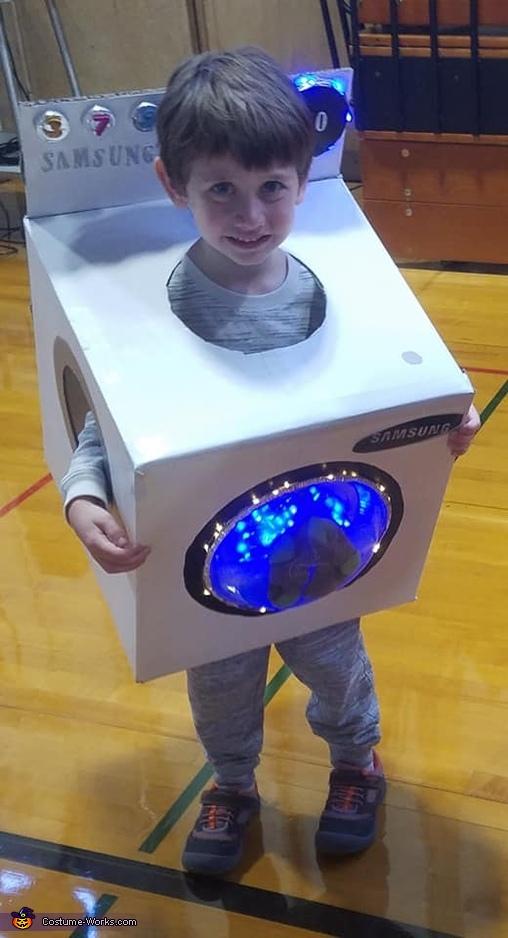 Laundry Boy, Laundry Boy Costume