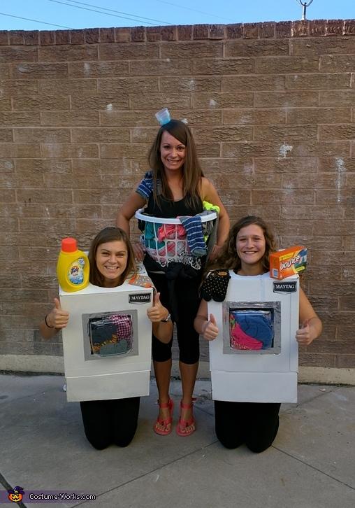 Washer, Dryer & Laundry Basket, Laundry Mat Costume
