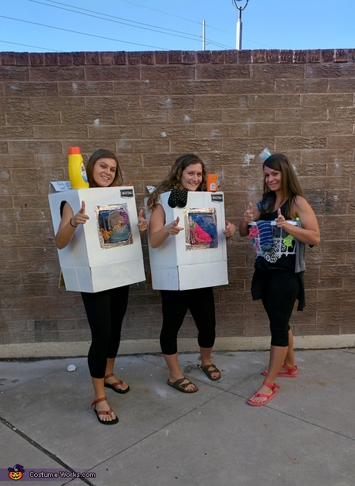 Dirty Laundry, Wash & Dry the clothes, Laundry Mat Costume