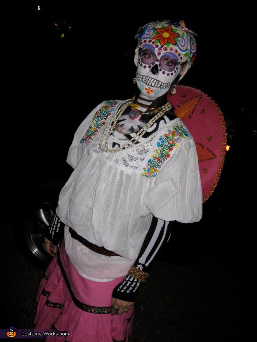 Laury Dia De Los Muertos. Dia De Los Muertos Couple - Homemade costumes for couples