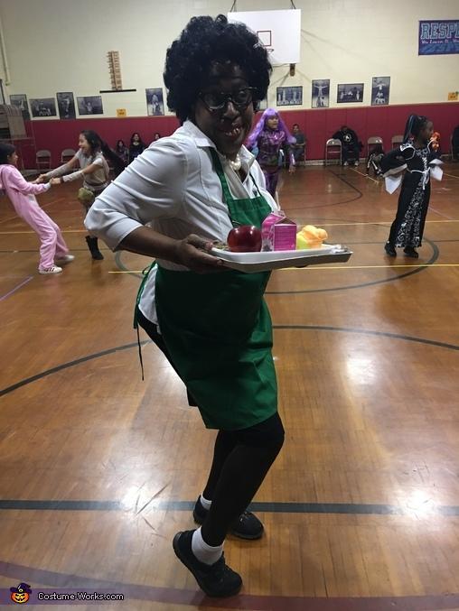 Lawanda the Lunch Lady Costume