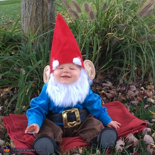 Happy gnome!, Lawn Gnome Costume