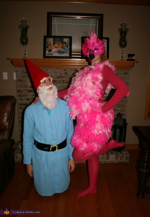 Lawn Ornaments Couple Costume