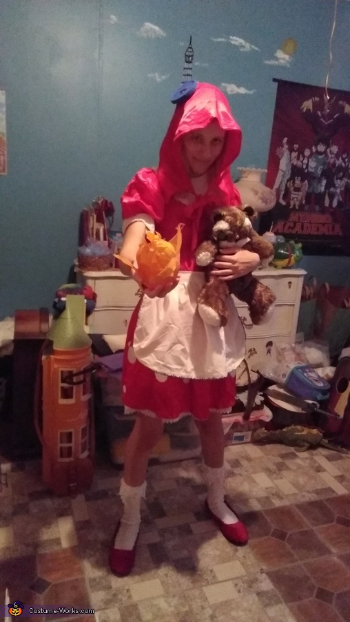 Can Tibbers play too., League of Legends Annie Costume