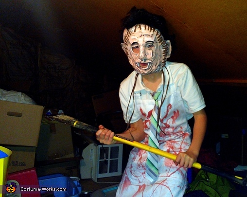 Ready To Attack, Leatherface Costume