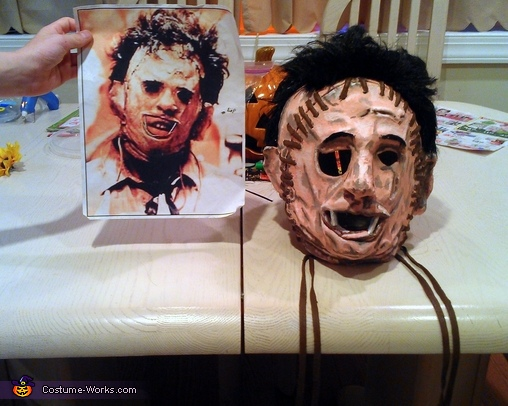 The Finished Mask, Leatherface Costume