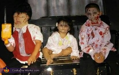 Leatherface and Zombies Costume