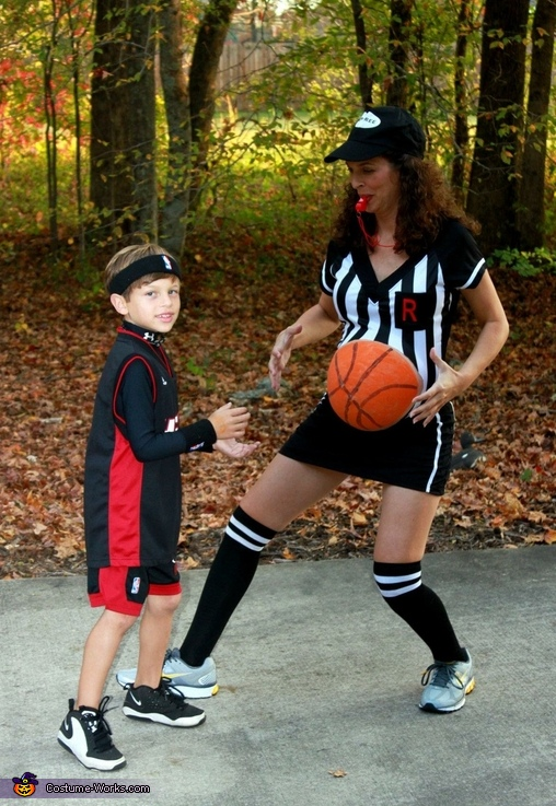 Lebron James and Referee Costume