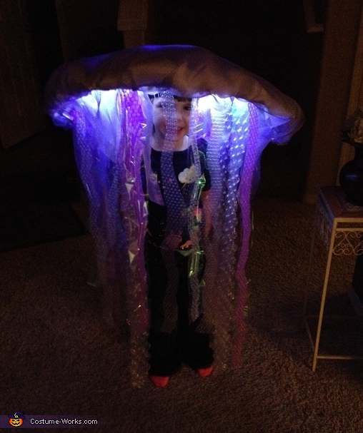 LED Jelly Fish CostumeJelly Fish Costume