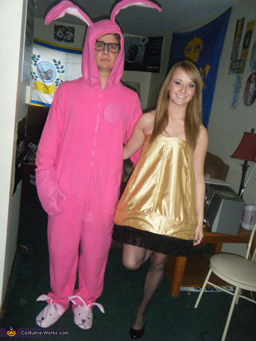 Leg Lamp and Pink Nightmare Costumes