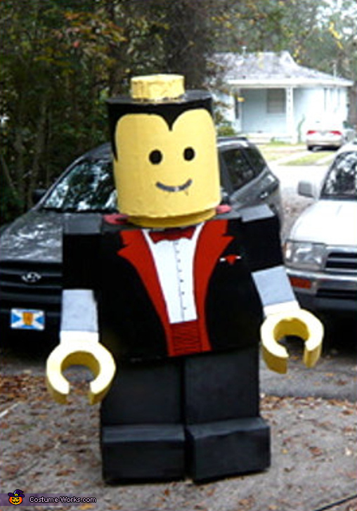 Lego Man Costume & Coolest Homemade Lego Man Costume