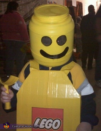 Lego Boy - Homemade costumes for boys