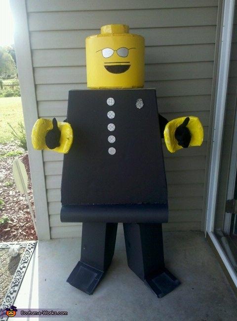 LegoMan Minifigure Costume