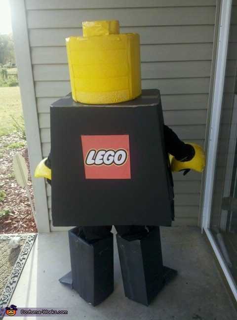 LegoMan Minifigure Halloween costume