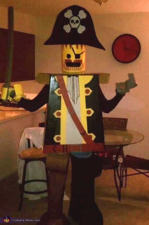 Lego Pirate Costume
