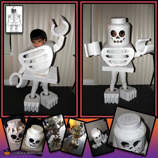 LEGO Skeleton Mini-Figure Costume