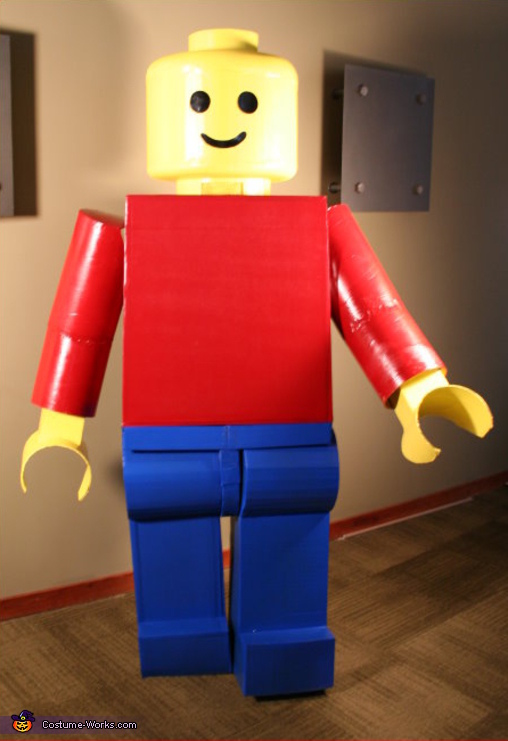 Classic Lego Man Costume & Homemade Lego Man Costume