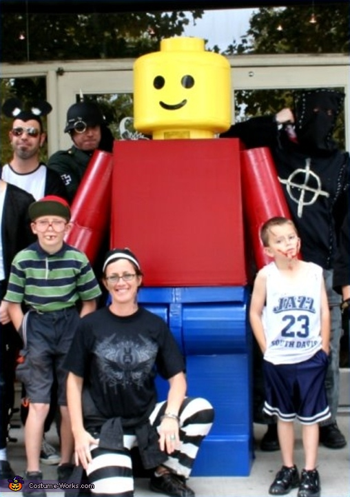 Classic Lego Man - Homemade costumes for men